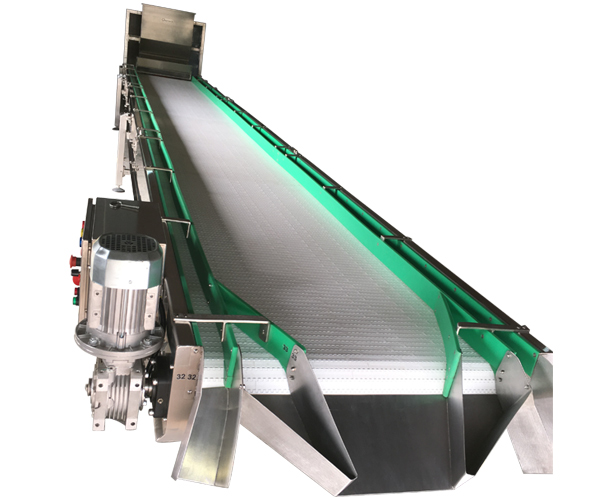 Peanuts Inspection Conveyor with Spreader System,